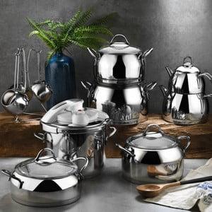 Set 18 kuchynského riadu z oceli Tony