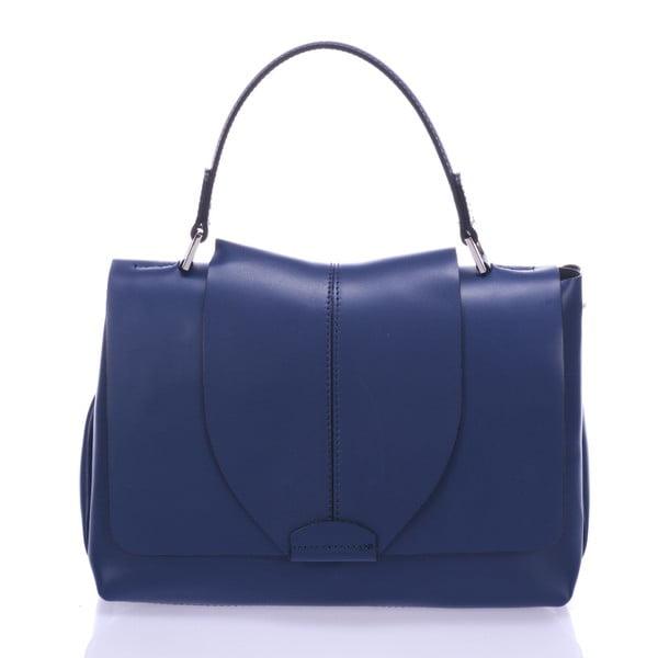 Modrá kožená kabelka Giorgio Costa Mijoria