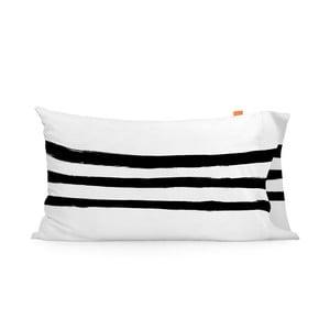 Sada 2 bavlnených obliečok na vankúš Blanc Stripes, 50 x 80 cm