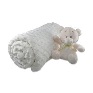 Bavlnená detská deka Aksu Kemik, 110×90 cm