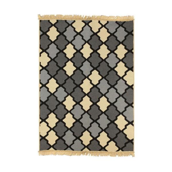 Sivo-béžový koberec Ya Rugs Duvar, 80x150cm