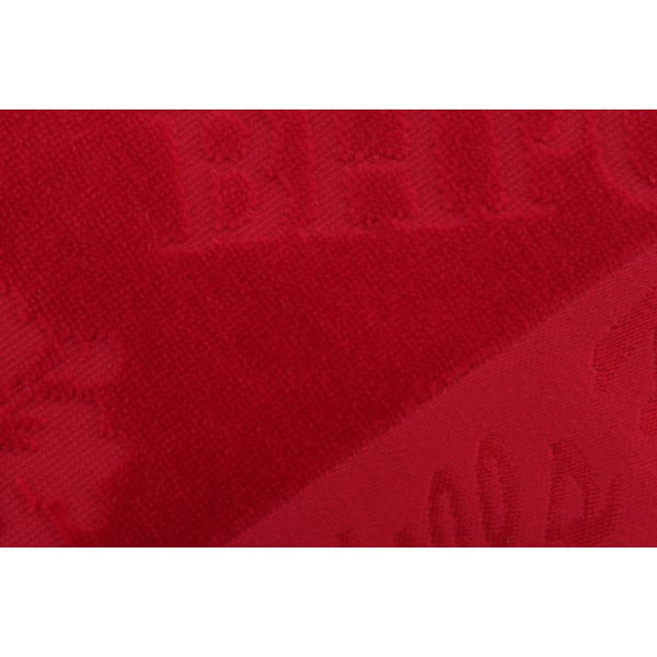 Vínový bavlnený uterák BHPC Velvet, 50x100 cm
