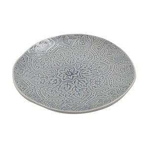 Keramický tanier Botanic Dusty Blue, 28 cm