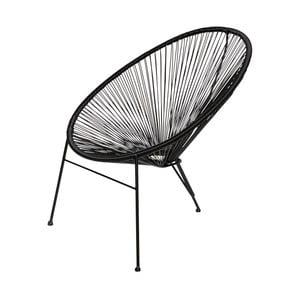 Čierna stolička De Eekhoorn Breeze