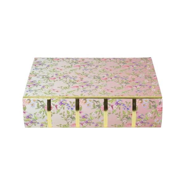 Sada 3 boxov v tvare knihy Tri-Coastal Design Charming Garden