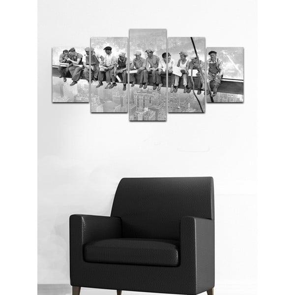 Viacdielny obraz Black&White no. 28, 100x50 cm