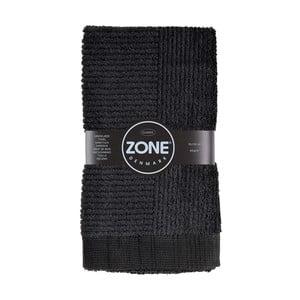 Čierny uterák Zone, 100x50cm