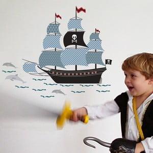 Nástenné samolepky Art For Kids Pirate Ship