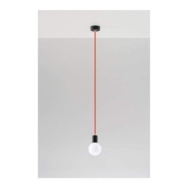 Červené stropné svetlo Nice Lamps Bombilla