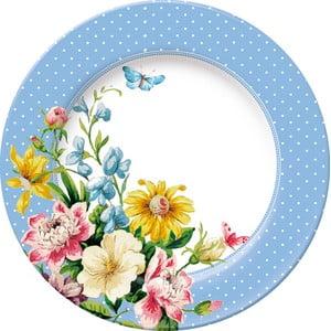 Dezertný porcelánový tanier Garden, Ø19 cm