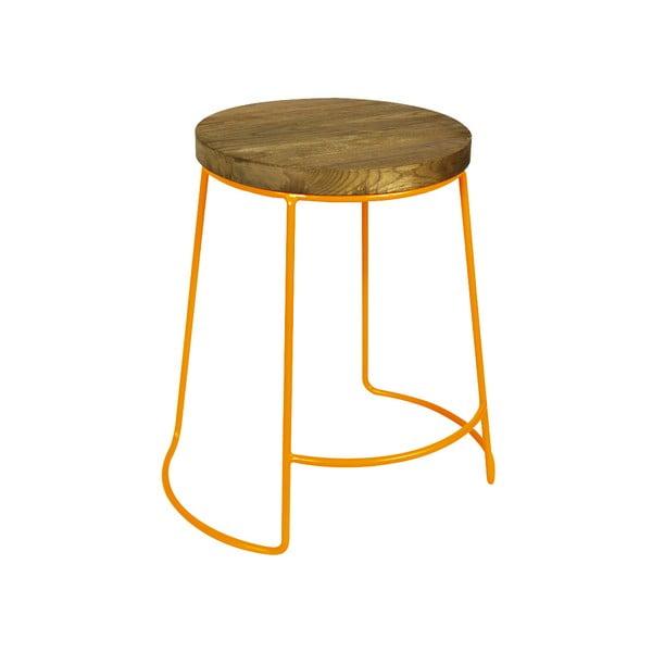 Odkladací stolík Emery Orange