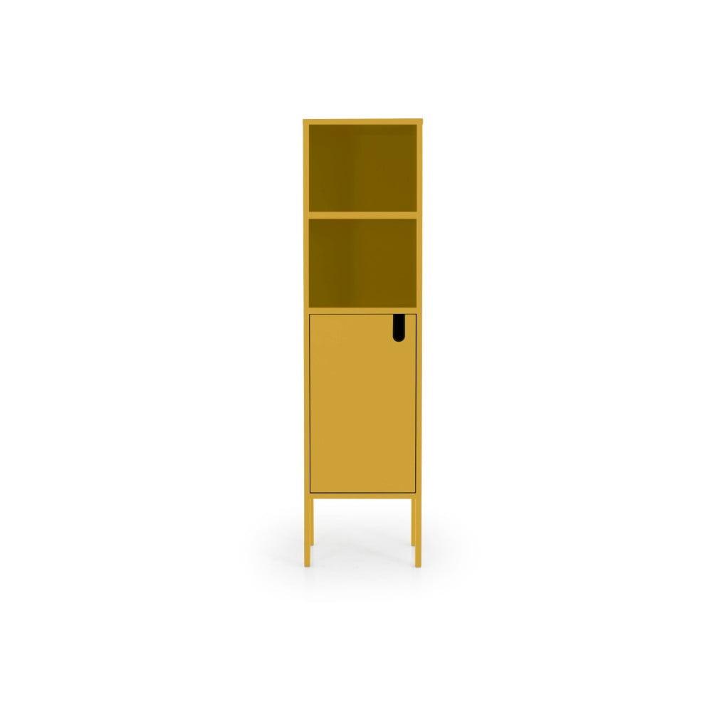 Žltá skriňa Tenzo Uno, výška 152 cm