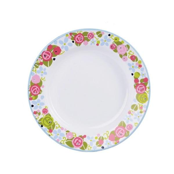 Smaltovaný tanier Julie Dodsworth, 26 cm
