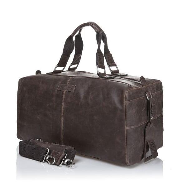 Pánska kožená taška Ferruccio Laconi 102 Brown