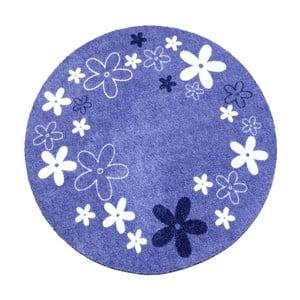 Koberec Deko - fialové kvietky, 100 cm