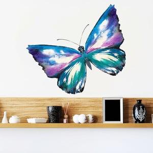 Samolepka Maľovaný motýľ, 70x50 cm