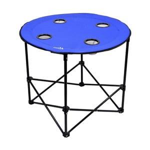 Modrý skladací kempingový stôl Cattara Split