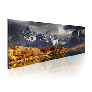 Obraz na plátne Artgeist Storm Landscape, 120x40cm