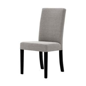 Sivohnedá stolička s čiernymi nohami Ted Lapidus Maison Tonka