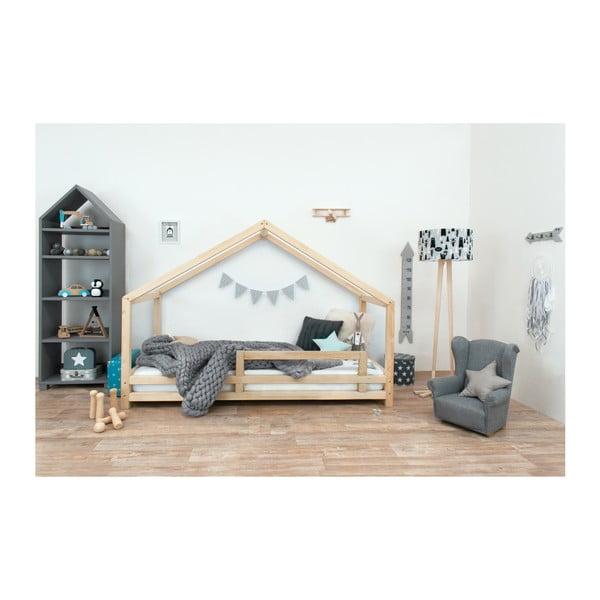 Detská posteľ z prírodného smrekového dreva Benlemi Sidy, 120 × 190 cm