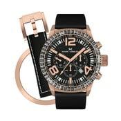 Dámske hodinky Marc Coblen s remienkom a krúžkom na ciferník naviac P112