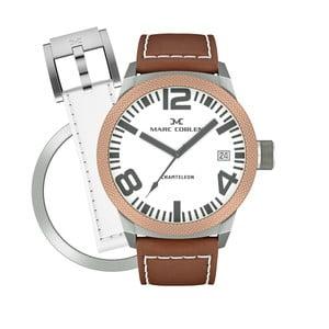Dámske hodinky Marc Coblen s remienkom a krúžkom na ciferník naviac P75