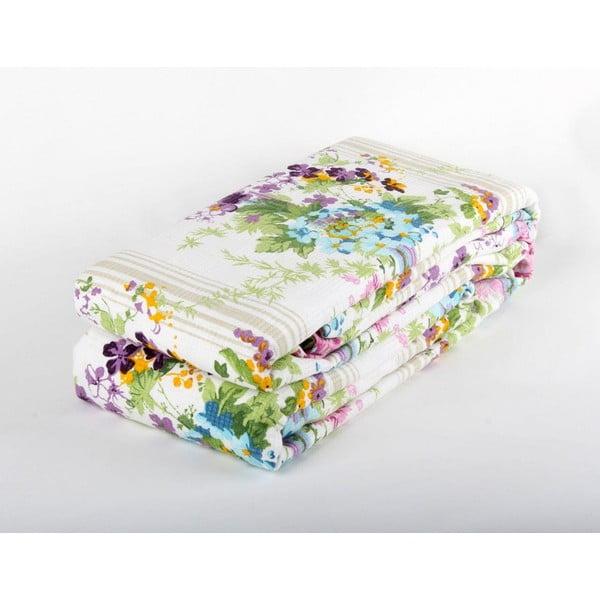 Fialová prikrývka na posteľ Love Colors Sarah, 200 x 240 cm