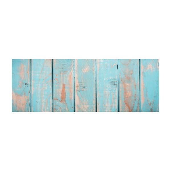 Vinylový koberec Tablas Turquesa, 50x120 cm