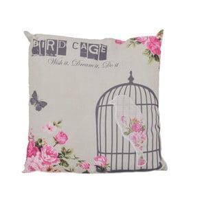 Vankúš Ewax Pink Cage, 40×40cm