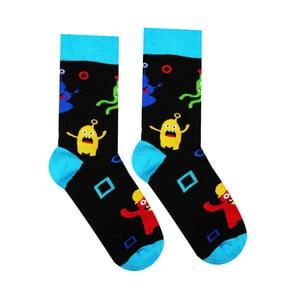 Bavlnené ponožky Hesty Socks Emzáci, vel. 35-38