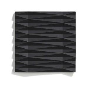 Čierna silikónová podložka pod hrniec Zone Origami Yato, 16×16 cm