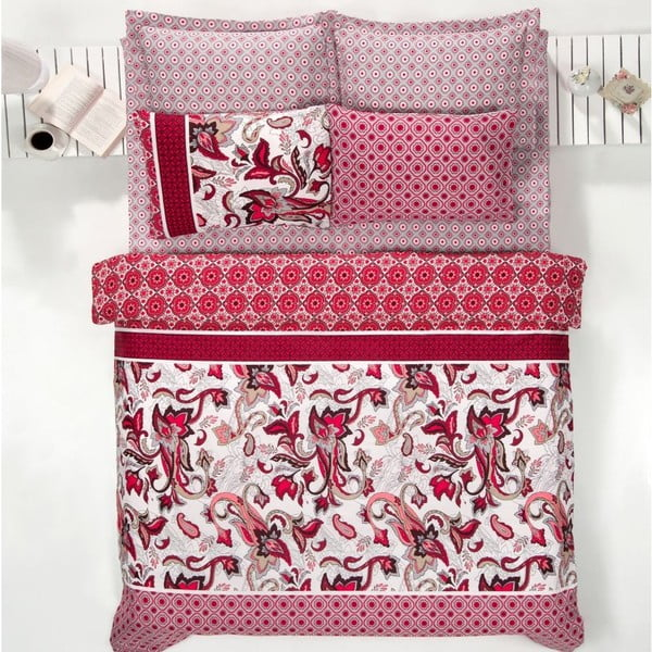Obliečky Zara Red, 200x220 cm