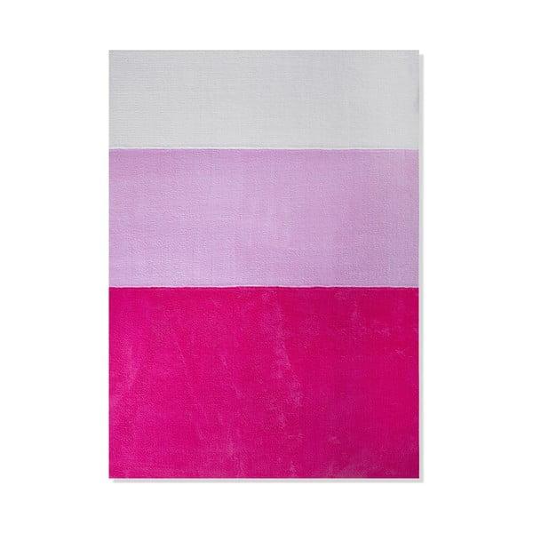 Detský koberec Mavis Pink Stripes, 100x150 cm