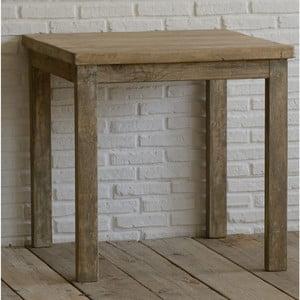 Stolík z recyklovaného dreva Old Wood, 80x80cm