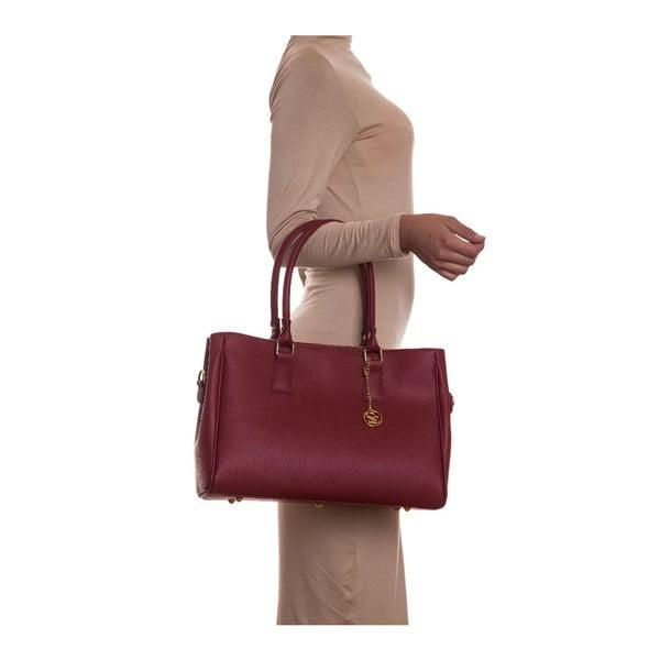 Kožená kabelka Sofia Cardoni 1141 Rosso