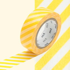 Washi páska Stripe Yellow