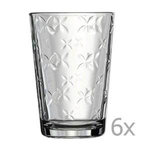 Sada 6 pohárov Paşabahçe Little Details, 200ml