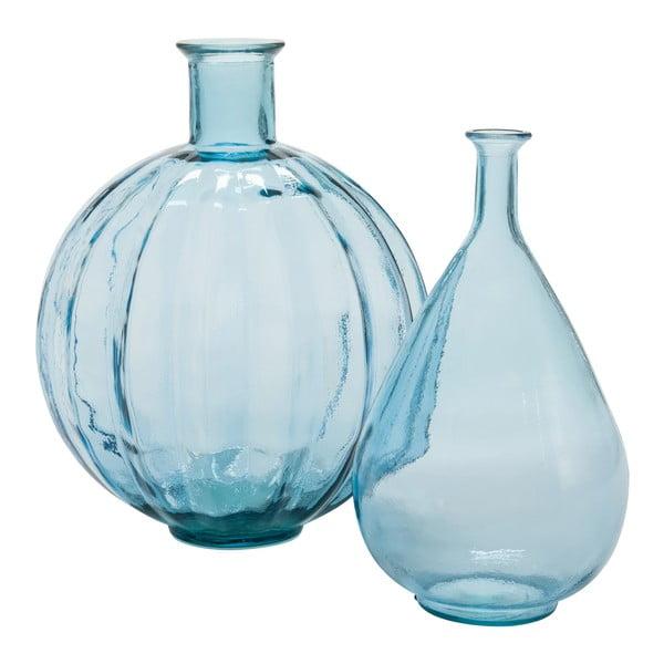 Váza Peael Blue, 20x20x37cm