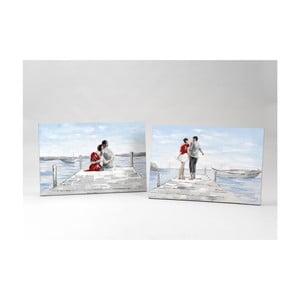 Plátno Lovers on Beach, 90x60  cm (2 ks)