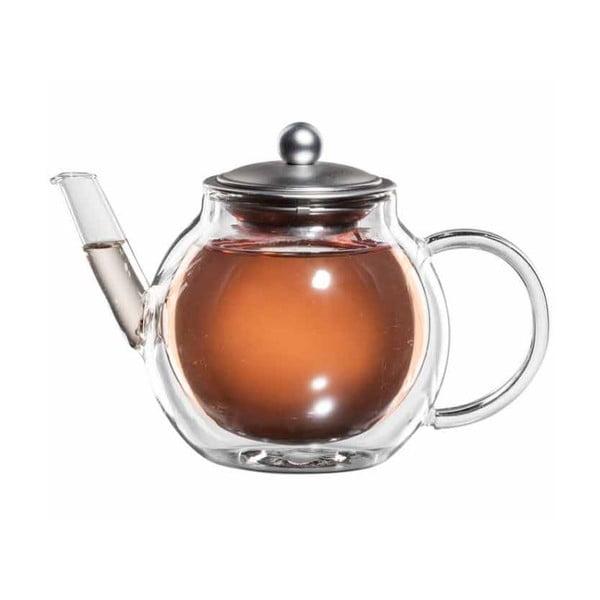 Sklenená kanvička na čaj so sitkom bloomix Aronia
