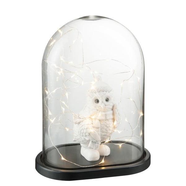 Dekoratívny poklop s LED svetielkami Bell, výška 37 cm