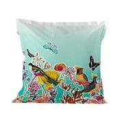 Obliečka na vankúš z čistej bavlny Happy Friday Birds of Paradise, 60×60cm