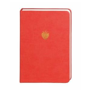 Červený zápisník Portico Designs, 300 strán