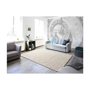 Biely koberec Universal Diwali White, 160 × 230 cm