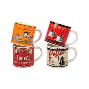 Sada 4 hrnčekov On The Road