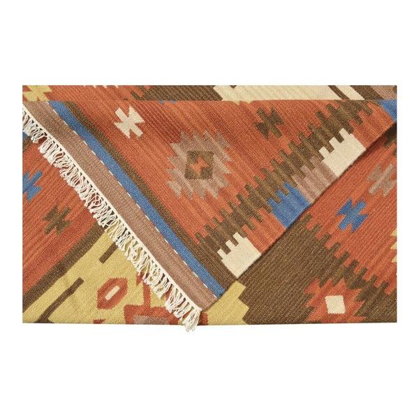 Ručne tkaný koberec Kilim Classic K08 Mix, 155x215 cm