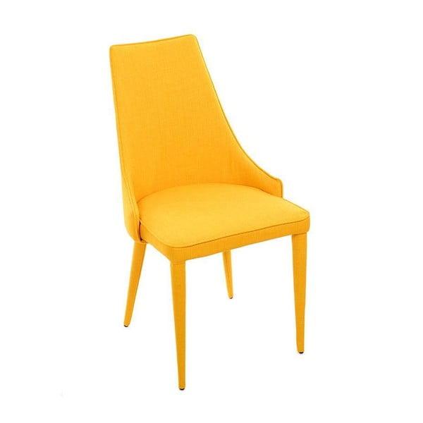 Stolička Fabric Yellow