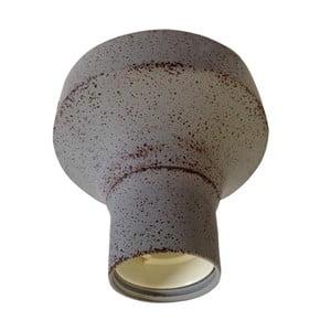 Sivé stropné svietidlo ETH Tasso
