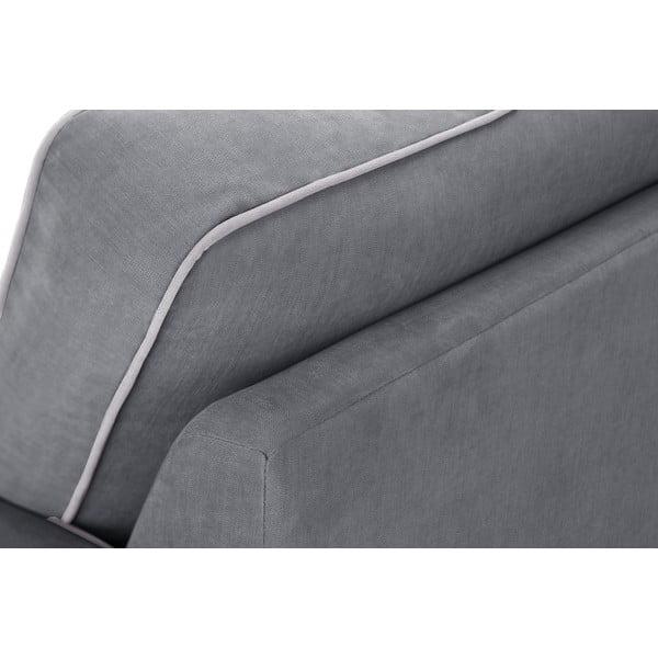 Trojdielna sedacia súpravaJalouse Maison Serena, sivá