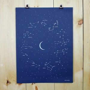 Plagát Constellation, 61x46 cm